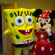 Minnie and Sponge Bob