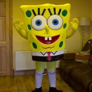 Sponge Bob mascot