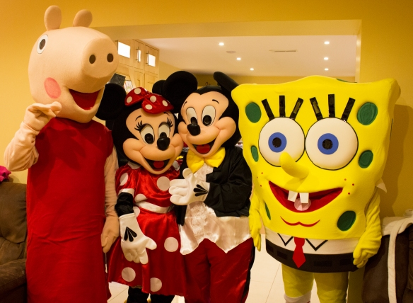 Cultacha Mascots le fáil ar chíos/Mascot Costumes available to hire. Discount if 2 or more are hired together.